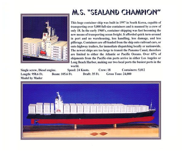 SEALAND-CHAMPION